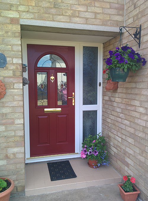 Solidor Composite Door with Sidelight & Solidor Composite Doors | Supreme Windows
